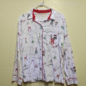Victoria's Secret Christmas pajama set